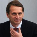 Sergey Naryshkin douma
